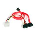 StarTech SAS729PW18 18in SAS 29 Pin to SATA Cable with LP4 Power