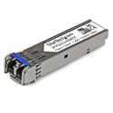 Startech SFPGLCLHSMST Cisco Compatible Gigabit Fiber SFP Transceiver Module SM/MM LC - 10 km (Mini-GBIC)