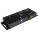 Startech ST4300USBM 4-Port Industrial USB 3.0 Hub - Mountable