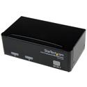StarTech SV231USB 2 Port Professional USB KVM Switch Kit with Cables