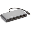 StarTech TB3DKM2HD Mini Thunderbolt 3 Dock - Dual 4K 60Hz - HDMI