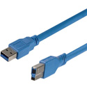 StarTech USB3SAB1 1-Foot SuperSpeed USB 3.0 Cable A to B - M/M