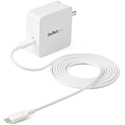 StarTech WCH1C 1 Port USB-C Wall Charger with 60W of Power Delivery