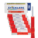 Sticklers S16  CleanStixx 2.0mm & 1.6mm Fiber Connector Cleaning Stick - 50-Pack