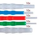 Sticklers VM CleanStixx Swabs Fiber Optic Connector Variety Pack - 50-Pack