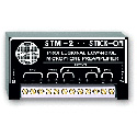 RDL STM-2 Adjustable Gain Microphone Preamplifier - 35 to 65 dB Gain