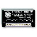 RDL STM-DA3 Microphone Level Distribution Amplifier - 1x3
