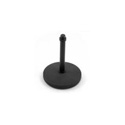 Connect Desktop Mic Stand  5in Round Base & 7in high Black