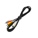 Canon STV-250N 4-Pole 3.5mm to 3-RCA A/V Breakout Cable