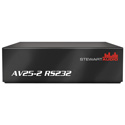 Stewart Audio AV25-2 RS232 2 Channel Subcompact Amplifier with RS232 Control