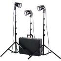 Smith Victor 401402 3 Light 1800-Watt Portable Attache Kit with Hard Case