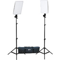 Smith Victor 401619 Slim Panel 800W Daylight LED 2 Light Kit