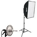 Smith-Victor KSBQ-1000 Professional Softbox Light Kit - 1000 Watt - 1 Light