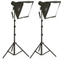 Smith-Victor KSBQ-2000 Professional Video Lighting SoftBox Kit