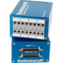 Switchcraft StudioPatch 1625 - 16 Patch Points to DB25 with Programmable Grounds