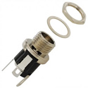 Switchcraft 722A Straight DC Power Jack - 0.080Inch (2.0mm) pin - solder lugs termination