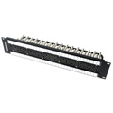 Switchcraft MVP32K175TX 1RU 2x32 MidSize Video Patchbay - Normalled / 75 Ohm Terminated