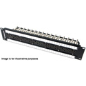 Switchcraft MVP32K275T 1.5RU 2x32 Midsize Video Patchbay - Normalled / 75 Ohm Terminated