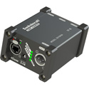 Switchcraft SD104QA 4-Channel Dante Output Direct Box - 1 x Locking RJ45 Input - 4 x XLR 3-Pin Male Line Outputs