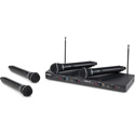 Photo of Samson SWS412HH-E Stage 412 - Frequency-Agile Quad-Channel Handheld VHF Wireless Mic System with (4) Q6 Dynamic Mics