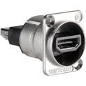Switchcraft EHHDMI2 EH Series HDMI Feedthru - Nickel Finish