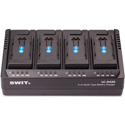 SWIT LC-D420D 4-Channel Simultaneous DV Battery Charger for Panasonic VBD/CGA Series Batteries