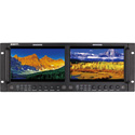SWIT M-1093H Dual 9-inch FHD Rack LCD Monitor