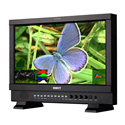 SWIT S-1173FS 17.3-inch 2K/3G/HDSDI&HDMI Waveform Studio Monitor with S-7004S V-mount Battery Plate