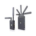 SWIT S-4914TP/S-4914RA 700m 3GSDI/HDMI Wireless Transmission System: T w/ Panasonic CGR-D Series Plate & R w/ Gold-mount