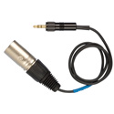Connectronics Tec-Nec XLR Male Unbalanced Line Output to 3.5mm Mini Locking 3 Ft Cable Sennheiser CL100-2 Equivalent