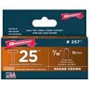 7/16-Inch Staples for Arrow T25 Staple Gun 1000 Pack