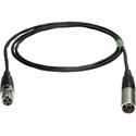 Connectronics Premium Quality 3-Pin Mini XLR Male to 3-Pin Mini XLR Female Audio Cable - 3 Foot