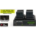 Dolgin Engineering TC400-SON-FZ100-TDM Four Position Simultaneous Battery Charger for Sony NP-FZ100 Batteries