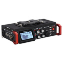 Tascam DR-701D 6-Track Field Recorder for DSLR with SMPTE Timecode - Li-Ion