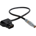 Laird TD-PWR1-1 Lemo 2-Pin Male to PowerTap Cable for Teradek - 1 Foot