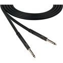 ADC-Commscope BK6B Bantam to Bantam Audio Patch Cable Nickel Black - 6 Foot