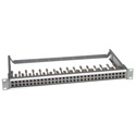 ADC PPI1232-MVJ-BK 1RU 2x32 Mid-Size HD Normalled Video Non-Terminating - w/Cable Bar - Black
