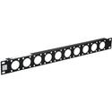 Commscope ADC TRP-1-BK 1RU Universal Triax Panel Mount - Black