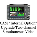 Tektronix WFM5200 CAM Internal Option Two-channel Simultaneous Video Monitoring for WFM5200