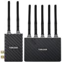 Teradek 10-2200-G Bolt 4K LT 750 3G-SDI/HDMI Wireless Transmitter and Receiver Deluxe Set - Gold Mount