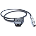 Teradek 11-0119 2-pin Connector to PowerTap - Cable Length 18in/45cm