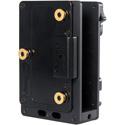 Teradek 11-0786 Cube 600/700 Series Dual Battery Plate Mount 14.4V - Gold Mount