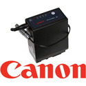 Teradek 11-0642 Li-Ion Replacement Battery for Canon BP-945 & BP-970 w /  10in  Barrel Adapter to 2-pin Lemo Connector