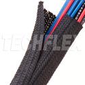 Techflex F6F0.75TB 3 / 4 Inch F6 FR Split Cable Sleeving - 100 Foot Roll