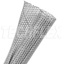 Techflex F6N1.25PG-250 Techflex 1.5in F6-Self Wrap Sleeving Platinum Gray 250ft