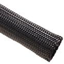 Photo of Techflex NMN1.00BK Nylon Multifilament 1 Inch - 200 Foot Spool - Black