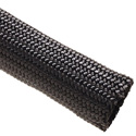 Techflex NMN1.25BK Nylon Multifilament 1.25 Inches - 125 Foot Spool - Black