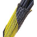 Techflex NSN1.50 200 SS NSN 1.50 Inch 200 Foot Bulk Spool - Safety Stripe