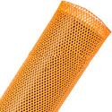 Techflex Flexopet 2 Inch Expandable Tubing - Neon Orange - 200 Foot