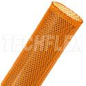 Techflex PTN1.50 1.5inch Orange Flexopet - General Purpose Expandable Braided Sleeving - 200 feet